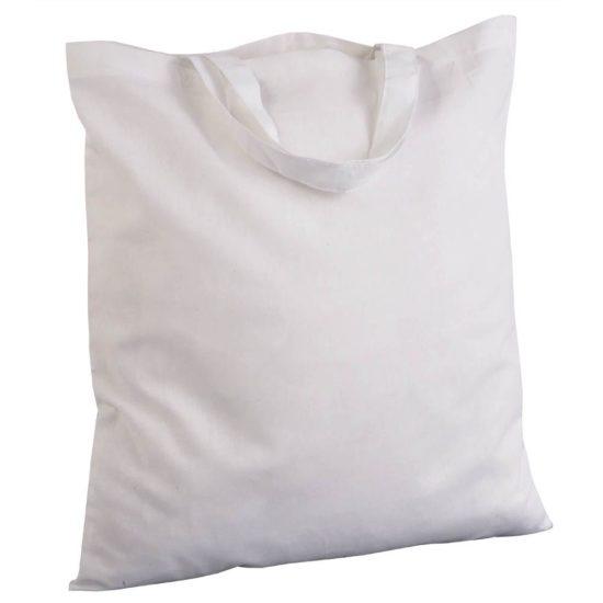 49d0222993016 Tragetasche aus 100% Baumwolle zum Bedrucken und Besticken 38x42 cm